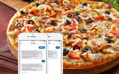 Mobile Messaging Case Study: WCHS and Gino's Pizza