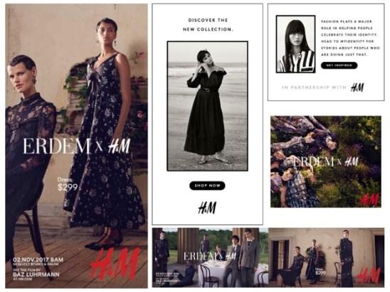 H&M Sample ads