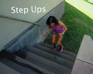 Step Ups Stairs