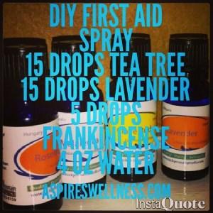 DIY First Aid Spray