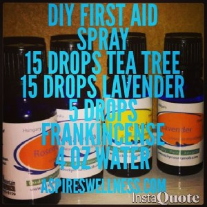 DIY First Aid Spray