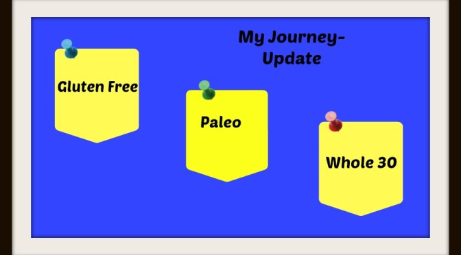 Gluten-free to Paleo to Whole 30 Journey