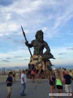 King Neptune Statue - Virginia Beach