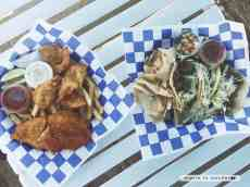 Fried seafood and fresh tacos from Clayton's on South Padre Island