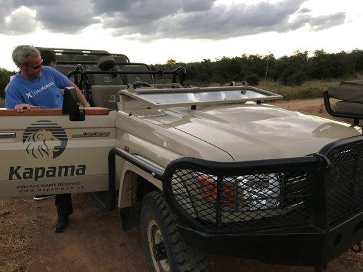 A typical Kapama vehicle
