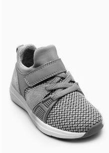 Grey Fashion Runner Trainers £20 - £22