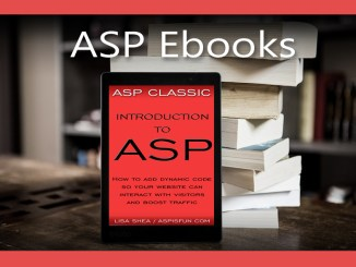 Introduction to ASP Ebook