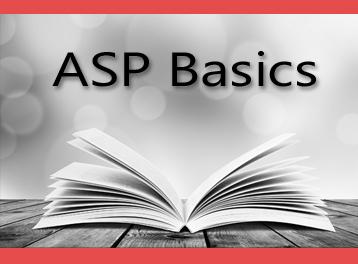 ASP Basics