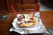 Kumpir is the bomb! Loaded baked potato.
