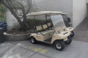The famous golfcart