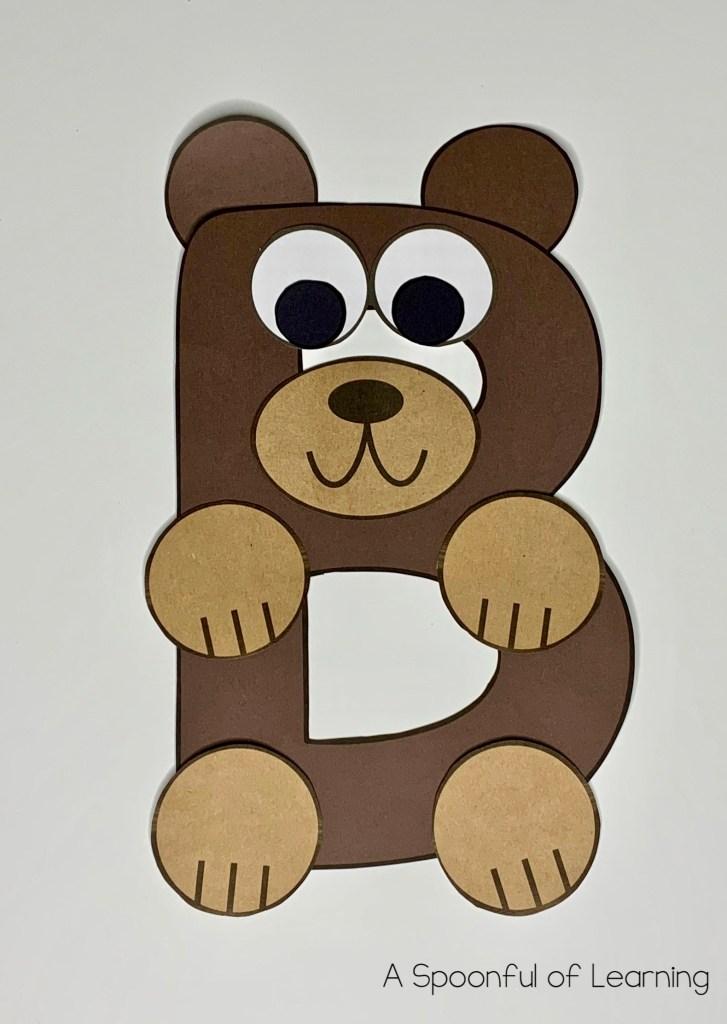 Letter B Craft - Freebies