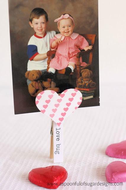 Heart Memo Holder A Spoonful Of Sugar