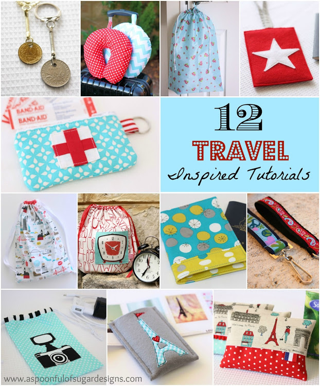 12+Travel+Inspired+Tutorials