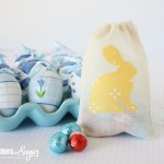 Easter Bunny Pouch