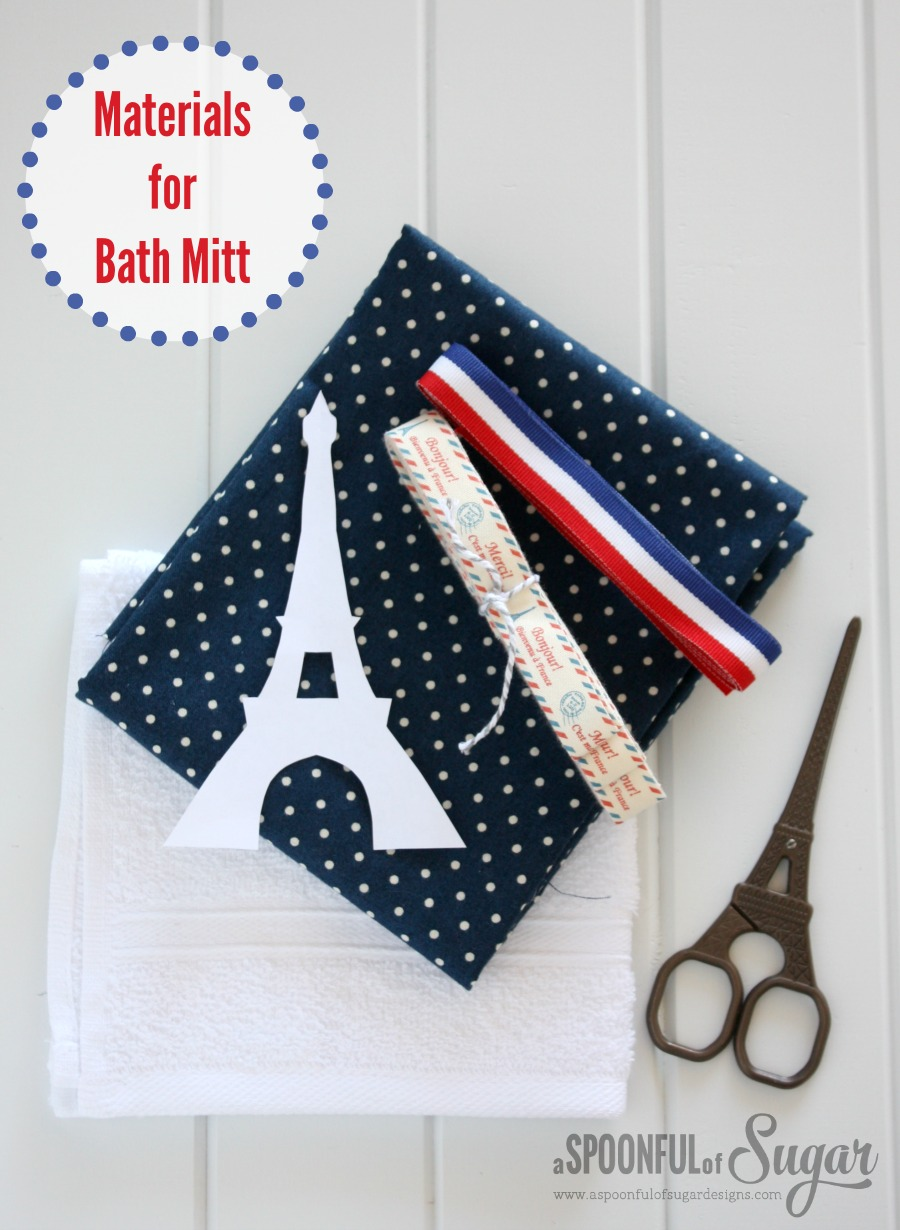 How to Make a Bath Mitt