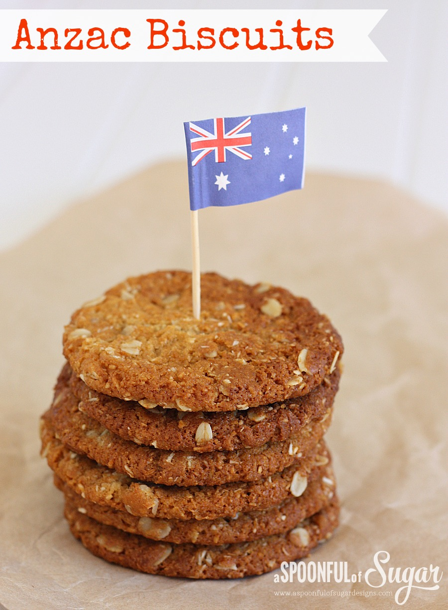 Anzac Biscuit Recipe