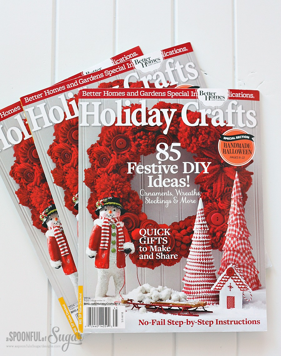 Nice Better Homes And Gardens Craft Ideas Part - 12: Holiday Crafts 2014