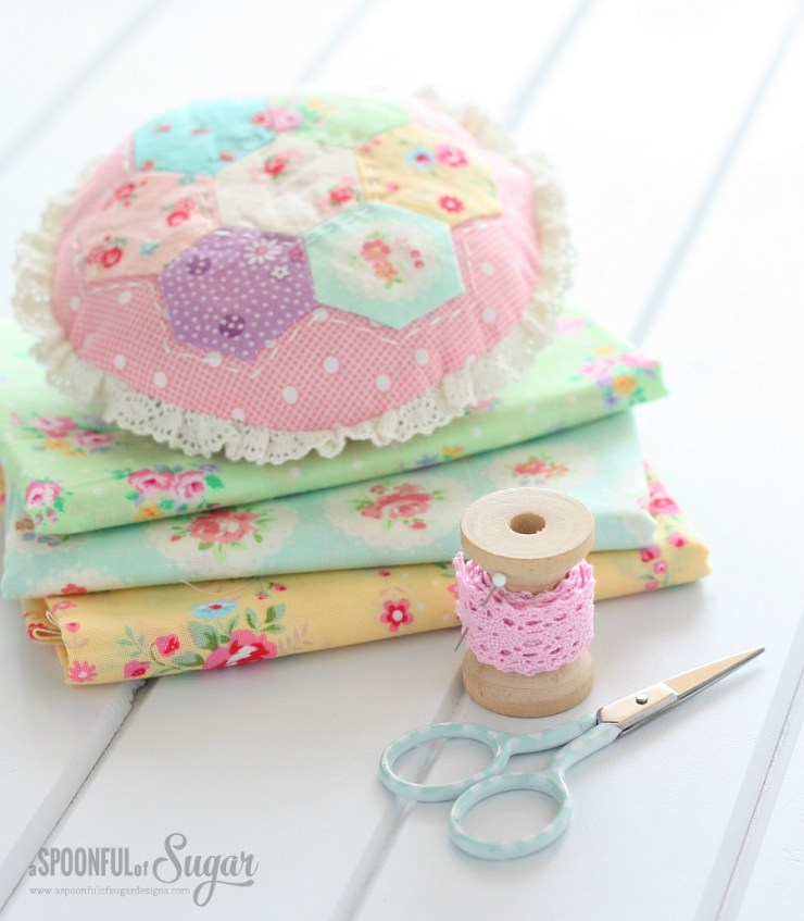 Hexagon Pincushion 2