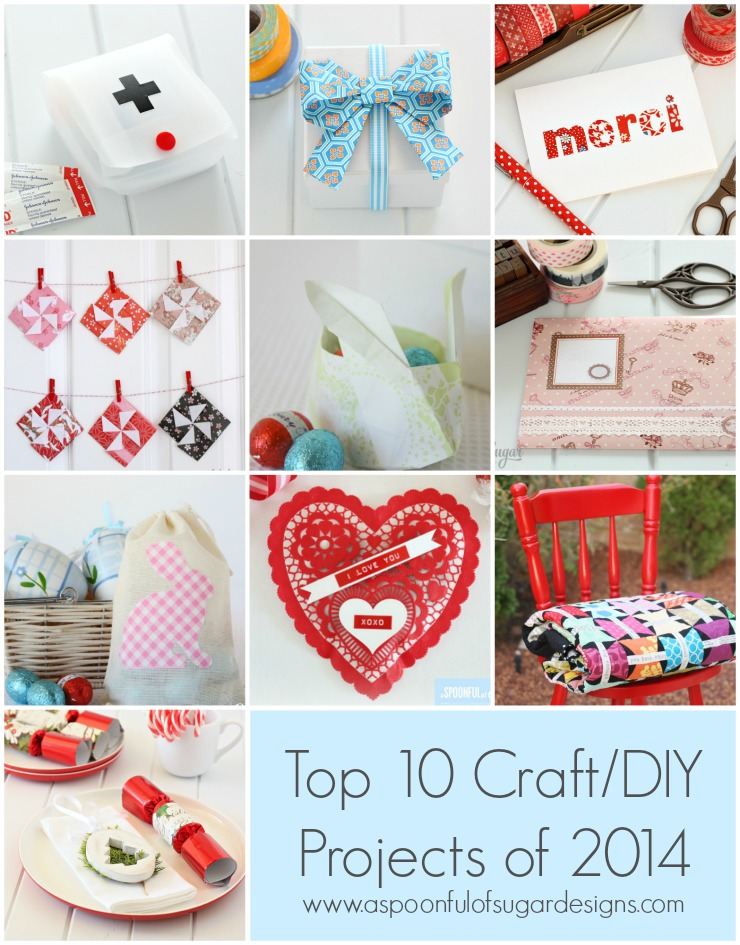 2014 - Top 10 Craft/DIY Projects - A Spoonful of Sugar