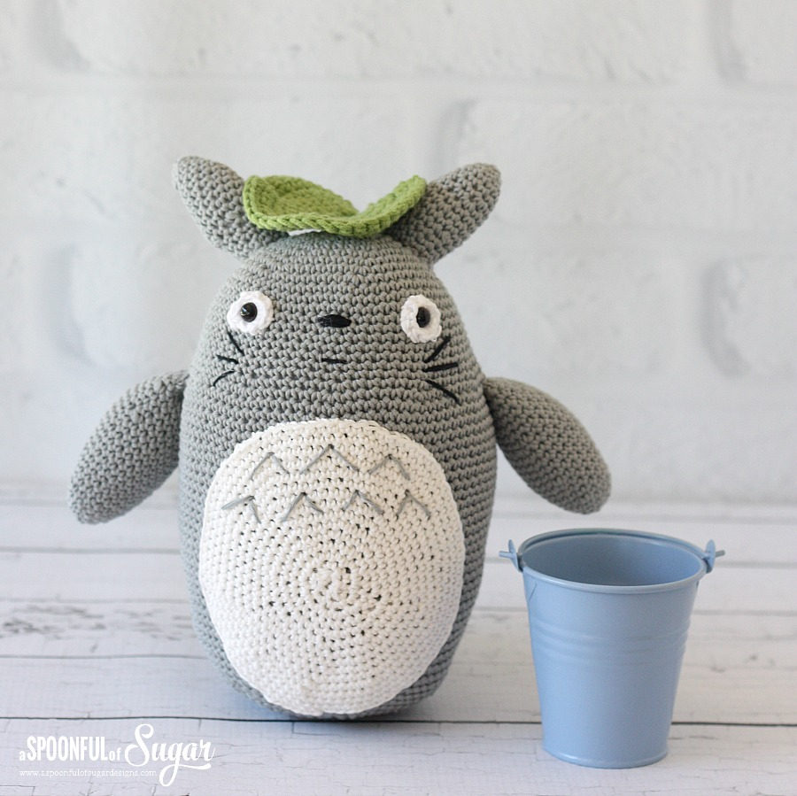 Crochet totoro a spoonful of sugar crochet totoro made by a spoonful of sugar dt1010fo