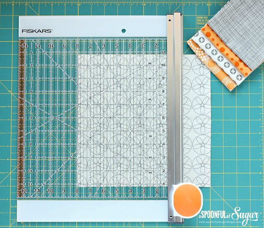 Fiskars Rotary Cutter and Ruler Combo