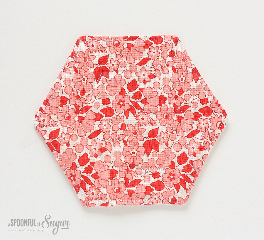 Hexagon Fabric Tray 4