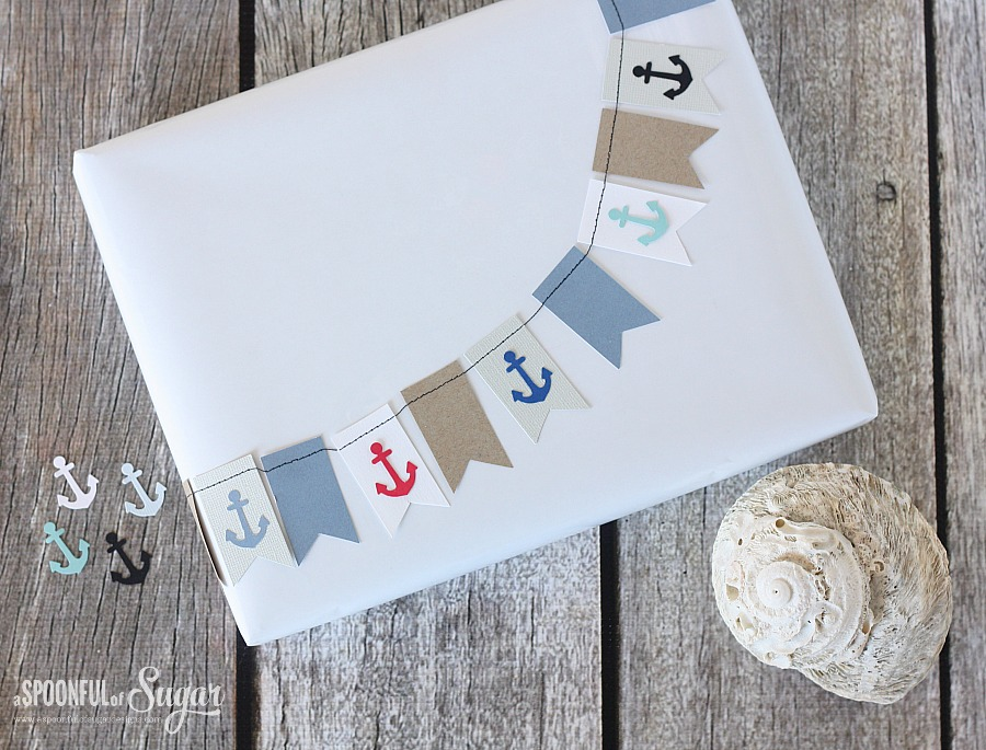 Nautical Gift Wrapping Ideas - A Spoonful of Sugar