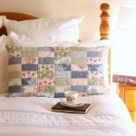 Pretty Patchwork Pillow Sham