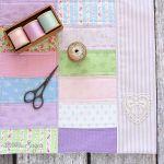 Pastel Patchwork Pillowsham