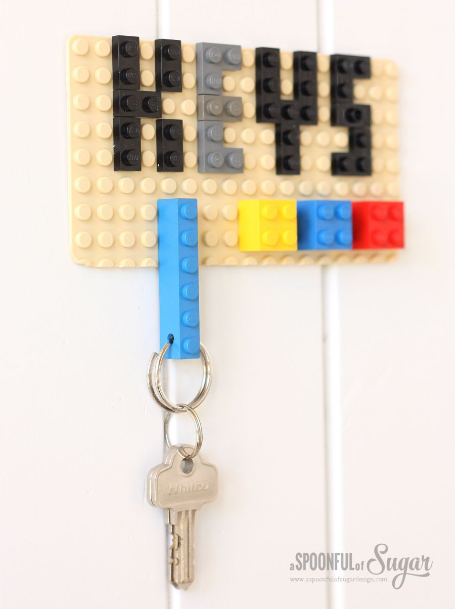 Lego Keychain Project using Dremel 4000 and Dremel Moto-Saw