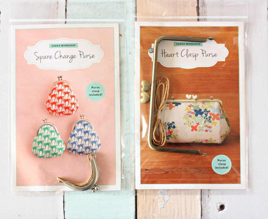 Zakka Workshop Purse Kits