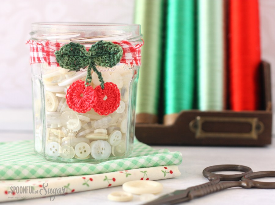 Cherry jar made by A Spoonful of Sugar