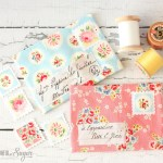 {Sewing Tutorial} Pretty Fabric Envelopes
