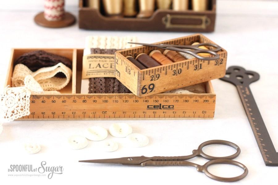 Ruler Box made using the Dremel 4000 and Dremel Moto-Saw