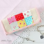 Pretty Patchwork Jewellery Wrap