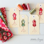Dress Form Gift Tags