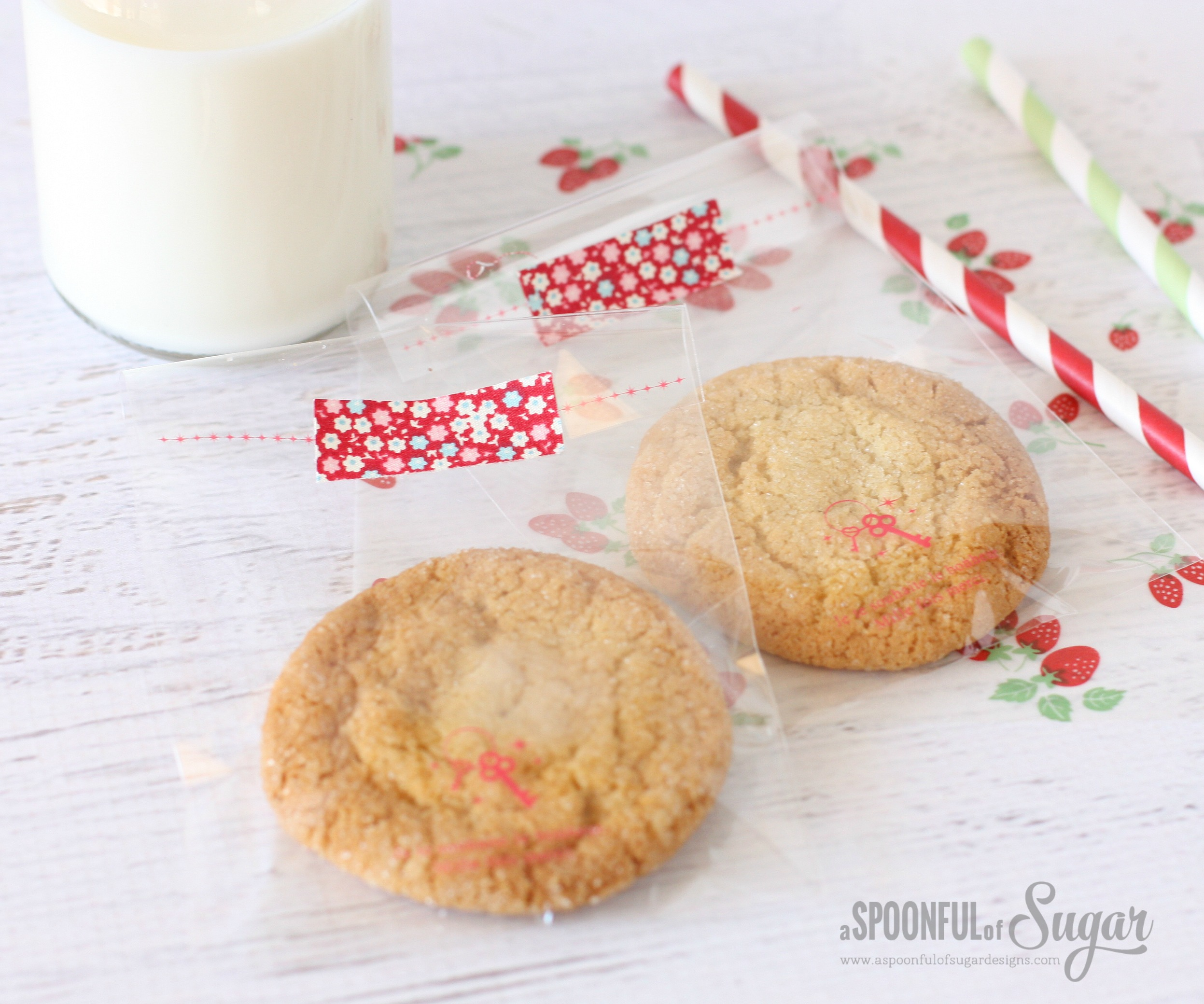 Easy Maple Cookies - A Spoonful of Sugar