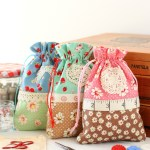 Retro Drawstring Bag