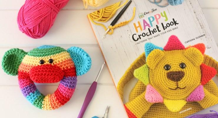 {Book Review} Happy Crochet Book by Carolina Guzman