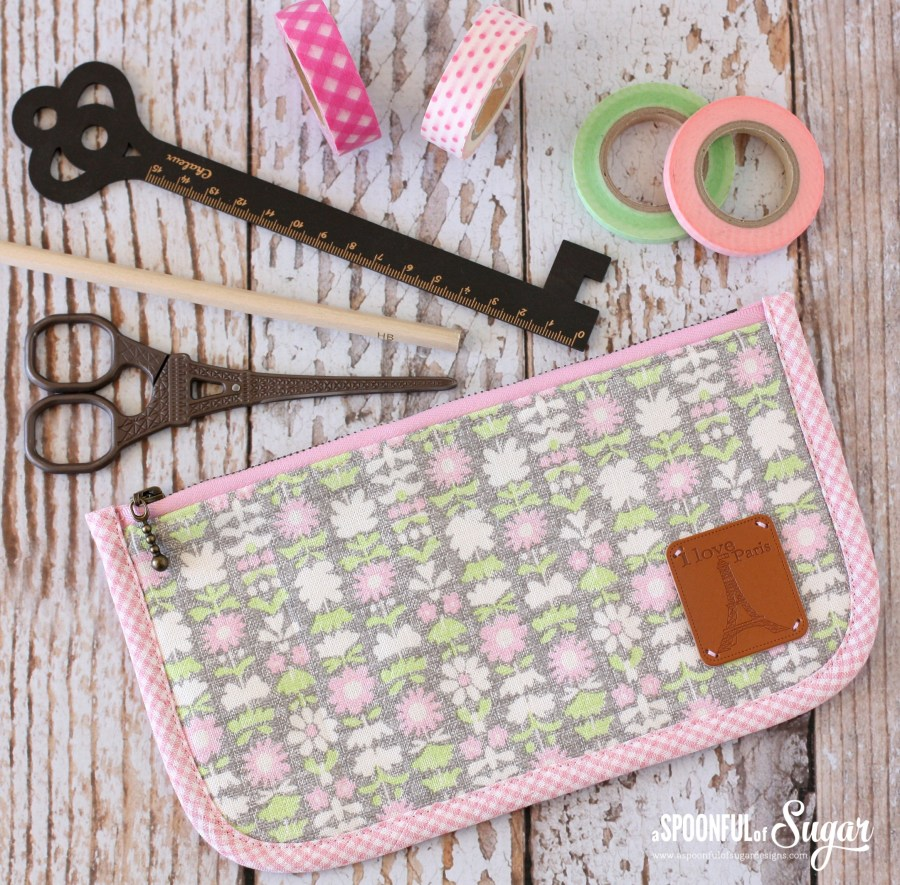 Pencil Case pattern from Handmade Style