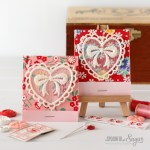 Valentines Matchbook Needle Holder