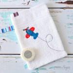Make Your Own Baby Bath Mitt