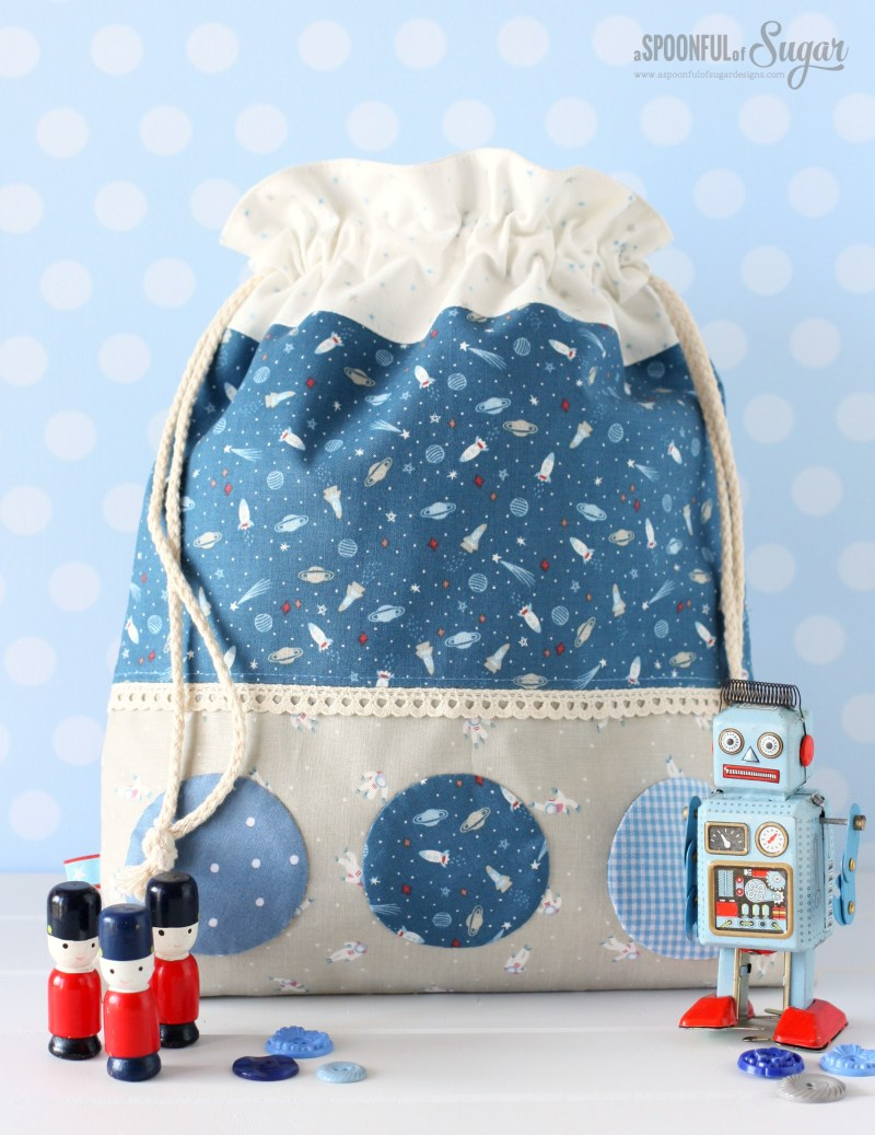 Drawstring Fabric Bag