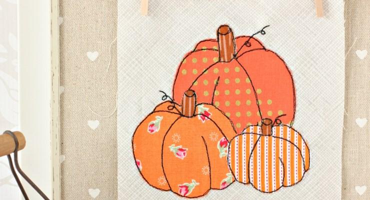 Pumpkin Patch {Halloween Applique}