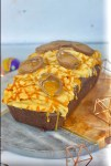 Chocolate & Caramel Loaf Cake