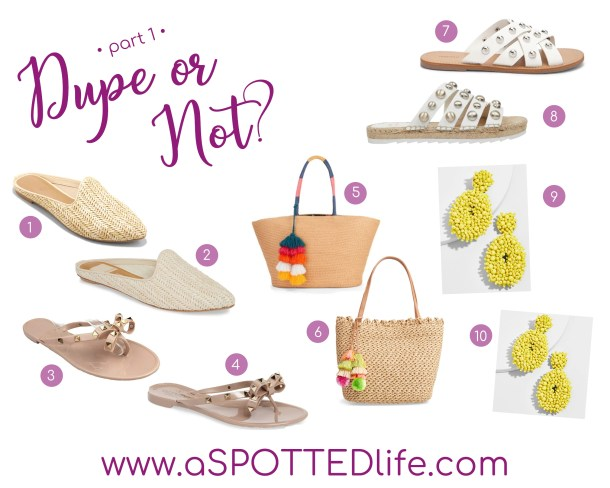 c9430bb93 Can you *spot* which ones are the dupes? I'll link all of my finds for you  here! Happy shopping ladies!