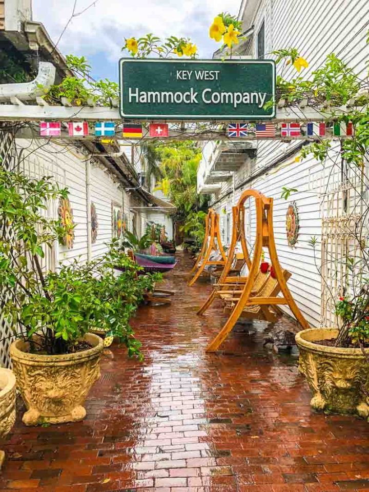 Key West Hammock Company on Duval St