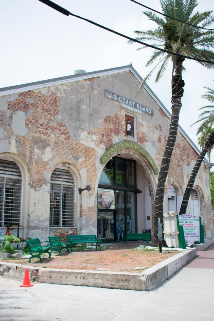 Old US Coast Guard building turned into a store
