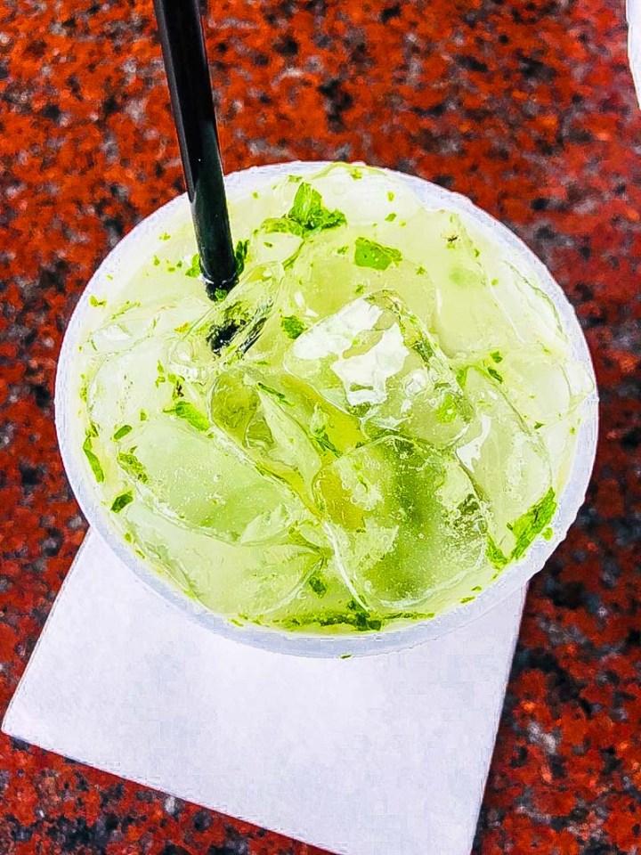 Mojito at El Meson de Pepe's
