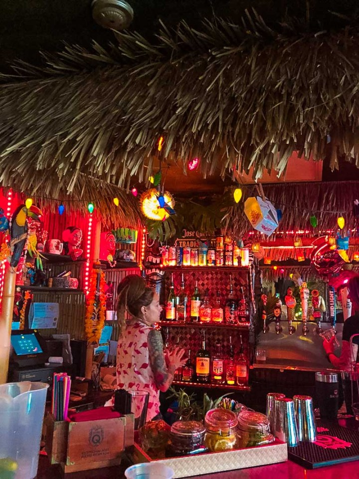 Bar at Tiki House